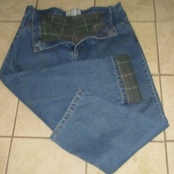 Burry Lane Other - Mens Burry Lane Lined Denim Jeans 42x32
